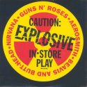 Caution:Explosive instore play